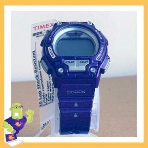 Timex Ironman Shock Resistant 30 Lap Purple Ladies